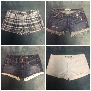 Shorts Lot size 6